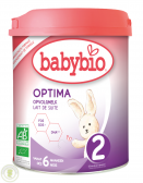 BabyBio Optima follow-on milk 2 baby formula (from 6 to 12 months)