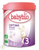 BabyBio Optima toddler milk 3 baby formula (from 12 to 36 months)