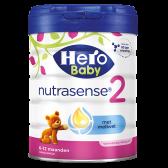 Hero Baby nutrasense opvolgmelk 2 melkpoeder (vanaf 6 tot 12 maanden)