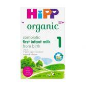 Hipp UK biologisch combiotik zuigelingenmelk 1 melkpoeder (vanaf 0 maanden)