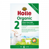 Holle Organic follow-on goat milk stage 2 baby formula (from 6 to 10 months)