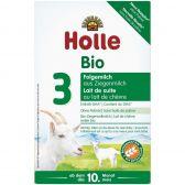Holle Biologische opvolgmelk 3 geitenmelkpoeder (vanaf 10 tot 12 maanden)