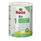 Holle Biologische zuigelingenmelk 1 geitenmelkpoeder (vanaf 0 maanden)