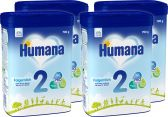 Humana Follow-on milk 2 baby formula (from 6 to 12 months)