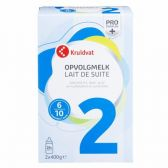 Kruidvat Follow-on milk stage 2 baby formula (from 6 to 10 months)