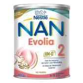 Nestle Nan evolia 2 melkpoeder (vanaf 6 tot 12 maanden)