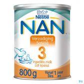 Nestle Nan verzadiging groeimelk 3 melkpoeder (vanaf 12 maanden)