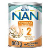 Nestle Nan verzadiging opvolgmelk 2 melkpoeder (vanaf 6 tot 12 maanden)