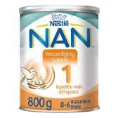 Nestle Nan verzadiging zuigelingenmelk 1 melkpoeder (vanaf 0 tot 6 maanden)