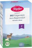 Topfer Biologische opvolgmelk 2 geitenmelkpoeder (vanaf 6 maanden)